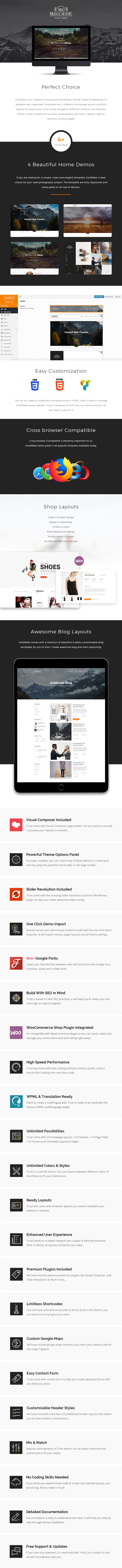 MegaMate – Creative Multipurpose WordPress Theme (Creative)